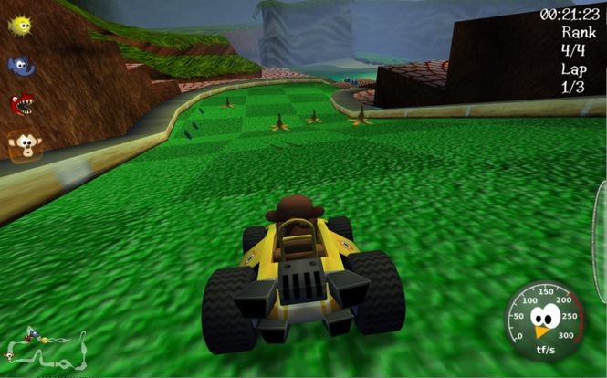 SuperTuxKart screenshot 1