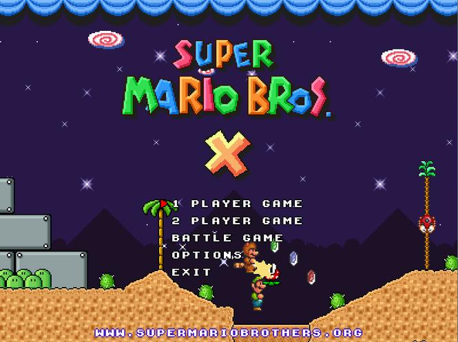 Mario скачать super bros