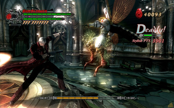 Devil May Cry 4 screenshot 1
