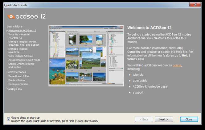 ACDSee Photo Manager 12 screenshot 1