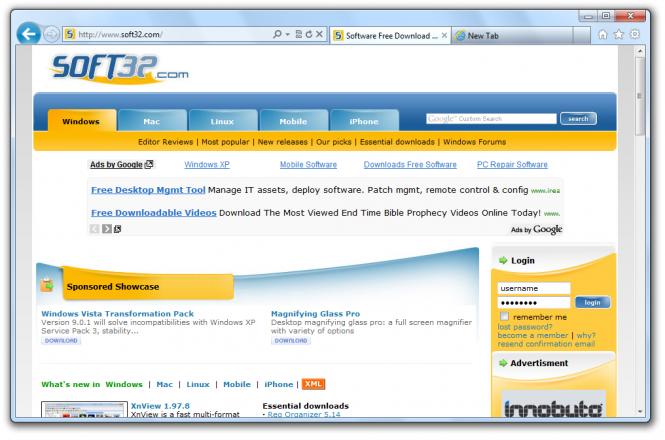 Internet explorer 9 for windows xp free downloa.