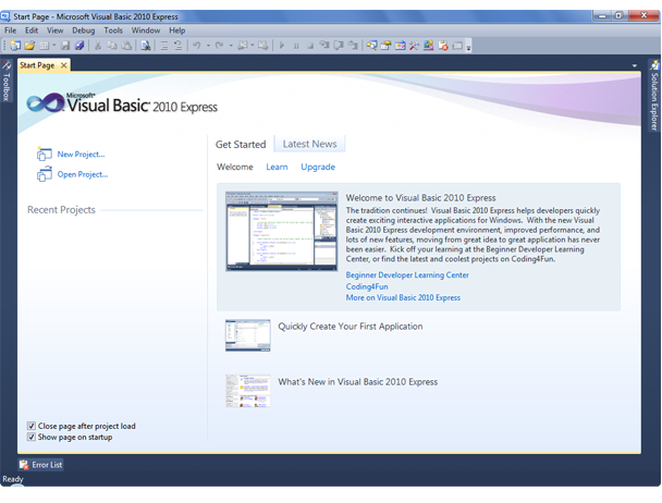Download microsoft visual basic 2010 express with 100% working.