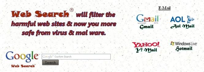 Google Web Search screenshot 1