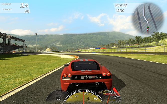 Ferrari Virtual Race screenshot 1