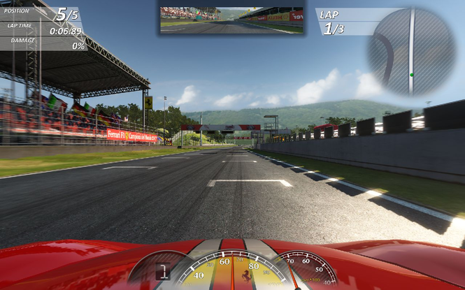 Ferrari Virtual Race screenshot 4
