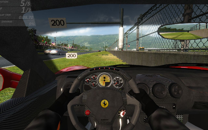 Ferrari Virtual Race screenshot 3