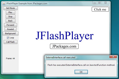 Java Flash Player - JFlashPlayer screenshot 1