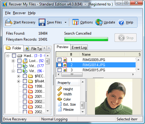 Recover My Files Data Recovery Software screenshot 1