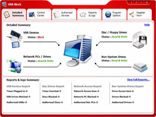 USB Block screenshot 1