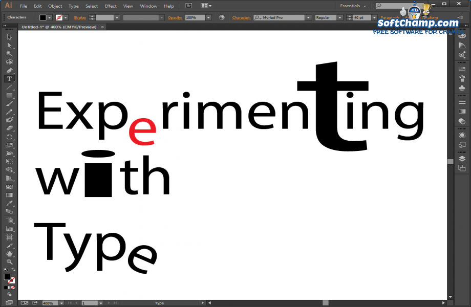 Adobe Illustrator CC Font