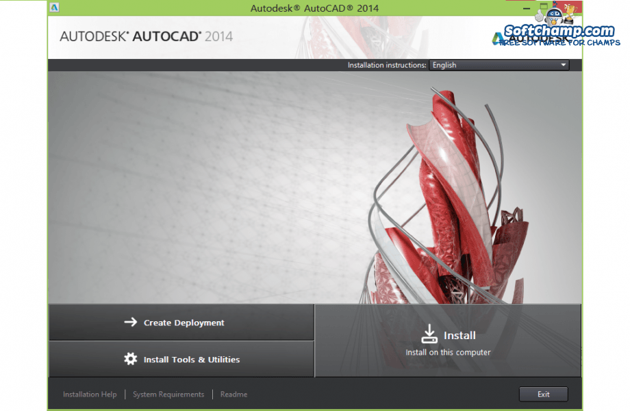 AutoCAD Home Screen
