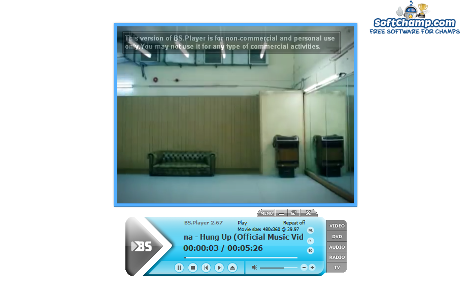 BS Player Video Playback