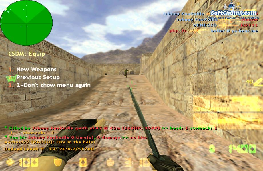Counter Strike New Round Start
