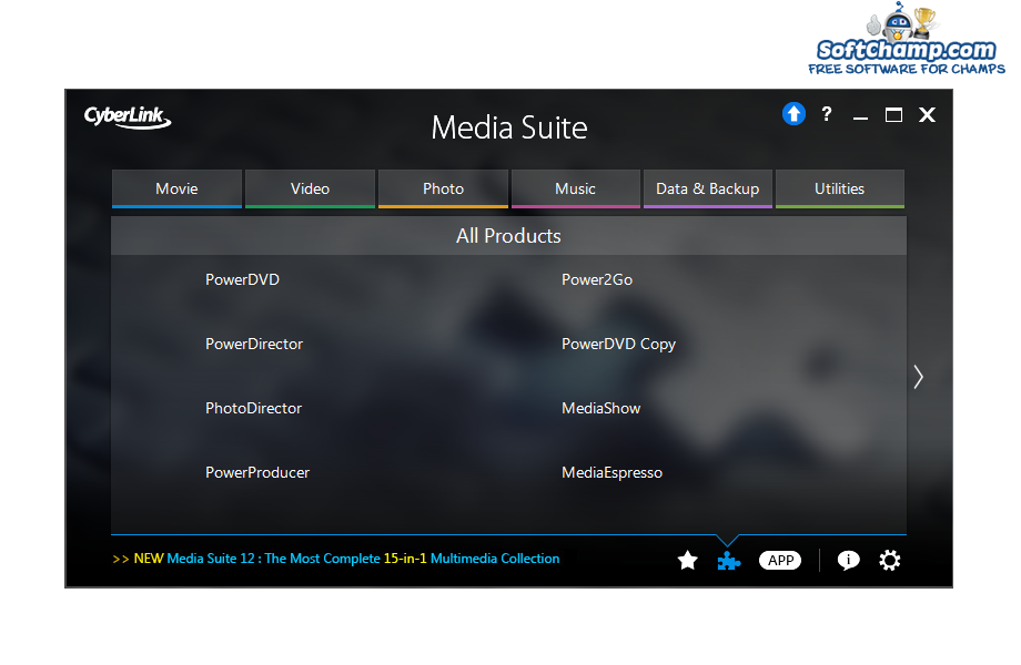 CyberLink Media Suite All Products