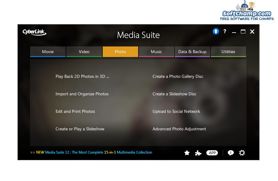 CyberLink Media Suite Photo
