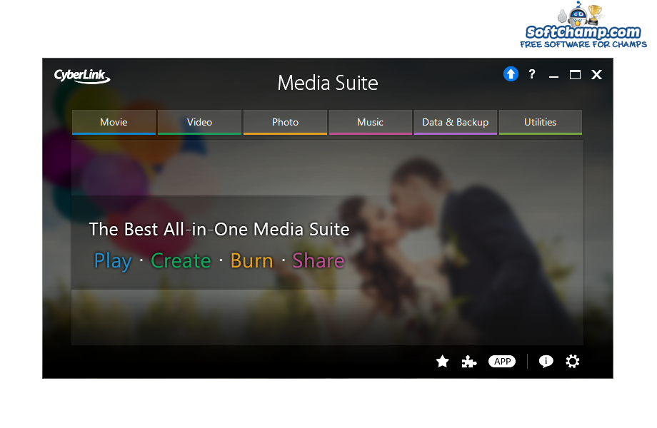 CyberLink Media Suite Play Create Burn Share