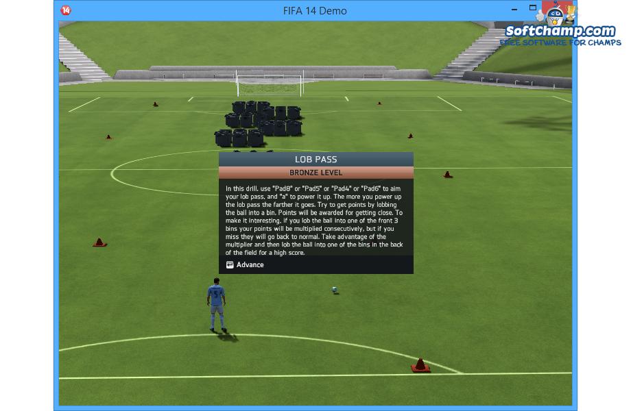 FIFA 14 Train and Learn New Skills