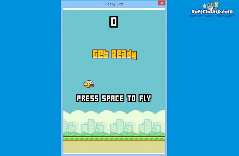 Flappy Bird Press space to fly