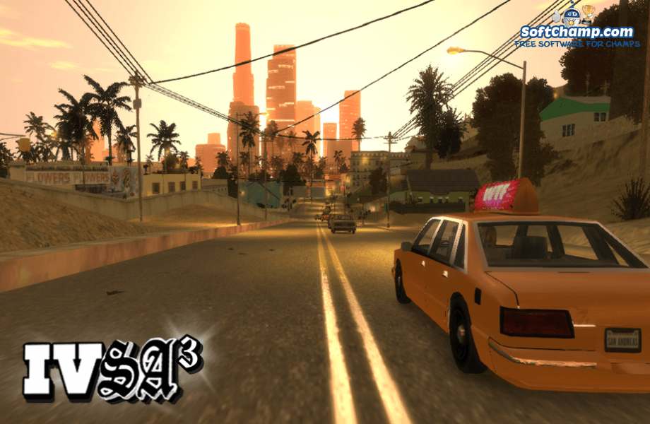 GTA IV San Andreas City view