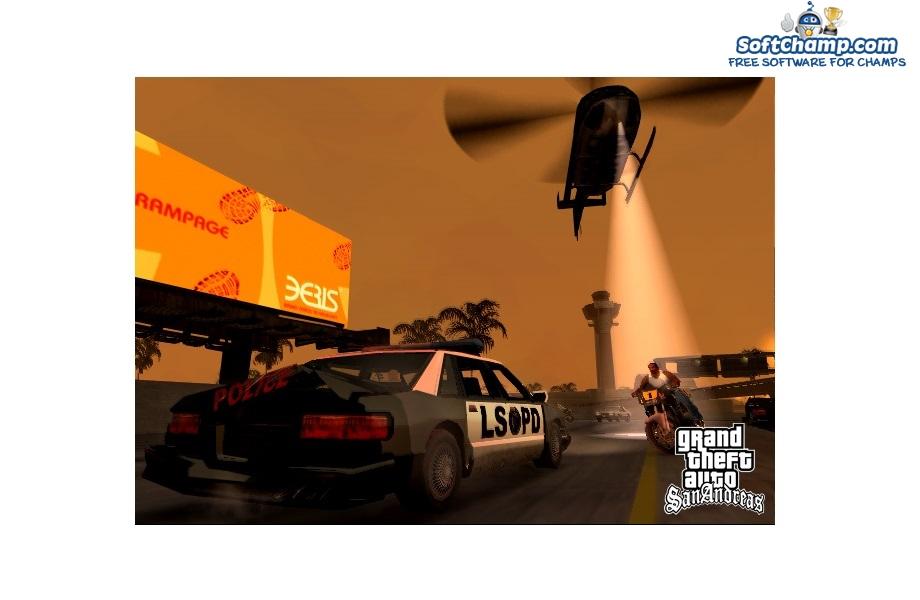 GTA San Andreas CJ in chase