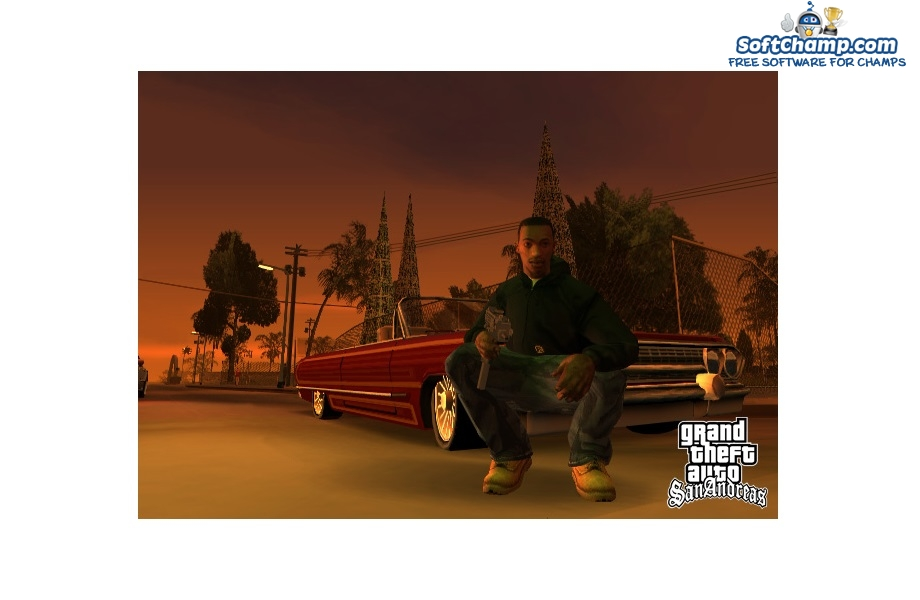 GTA San Andreas Gangster