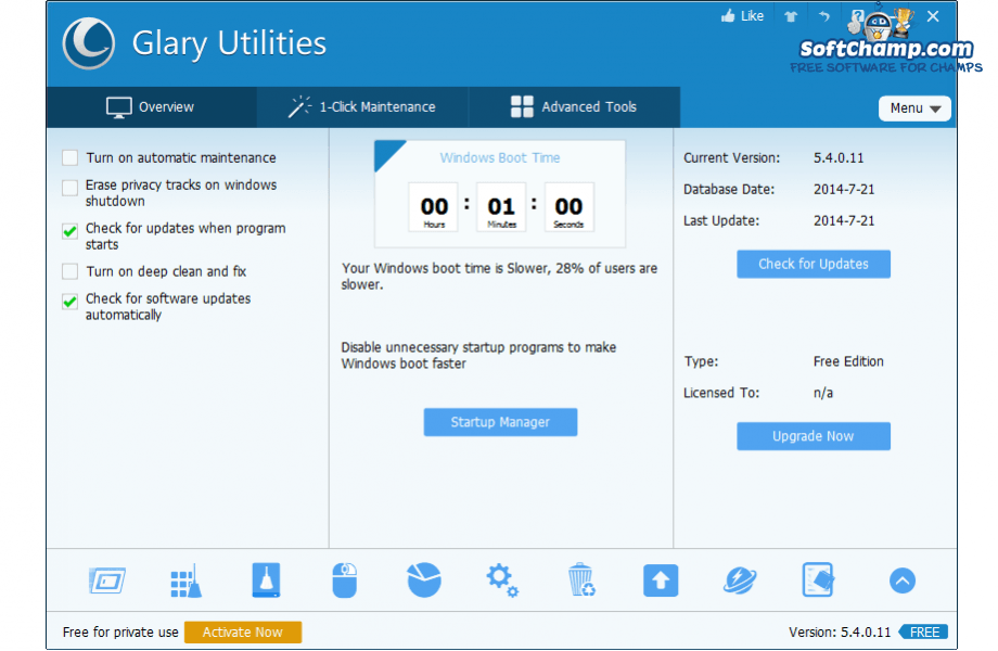 Glary Utilities System Overview