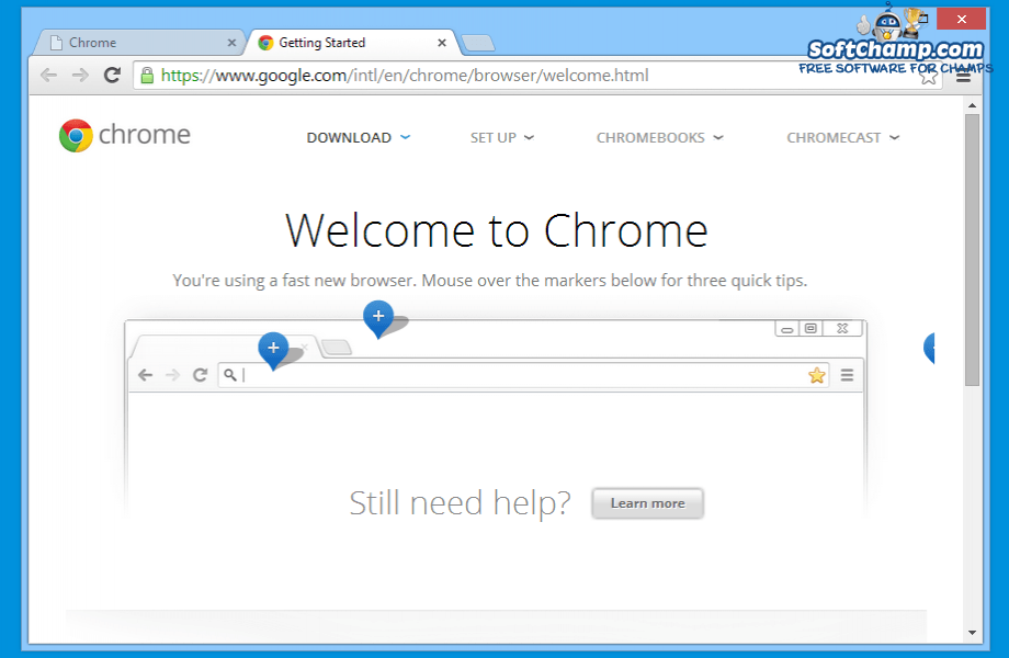 Google Chrome Getting Started