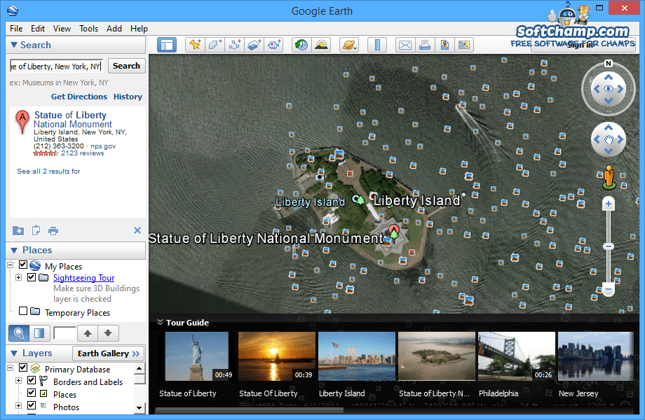 Google Earth Search