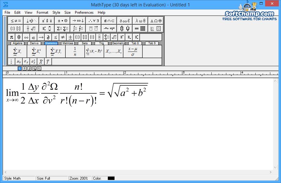 MathType Equation