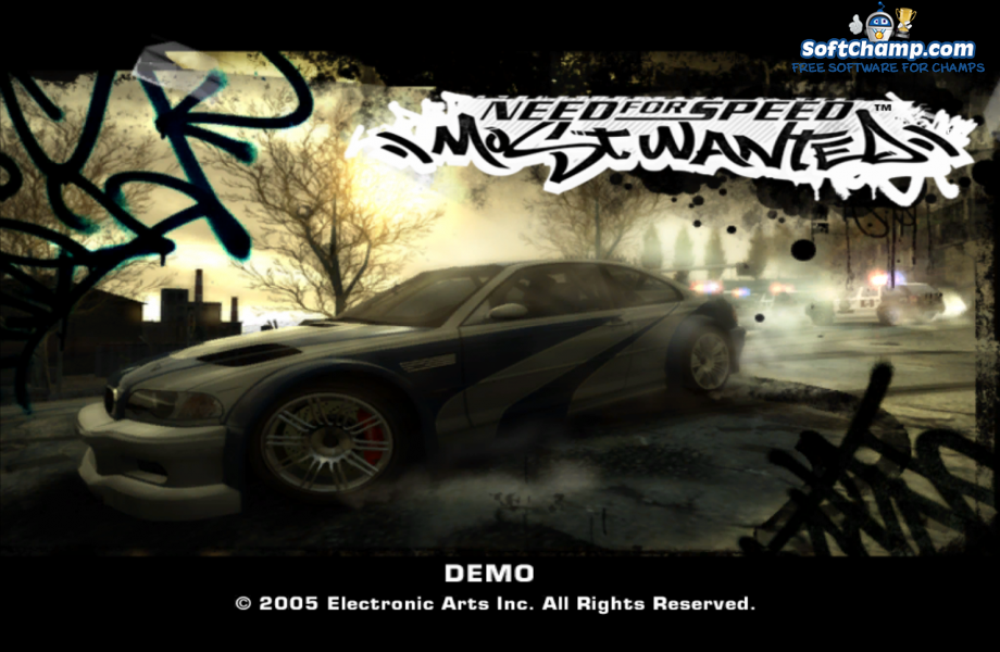 Need For Speed Most Wanted Start