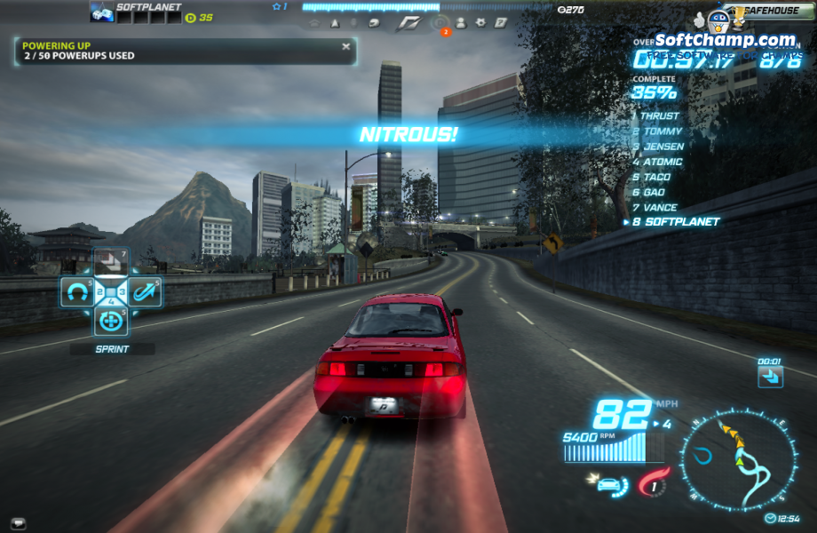 Need For Speed World Nitrous