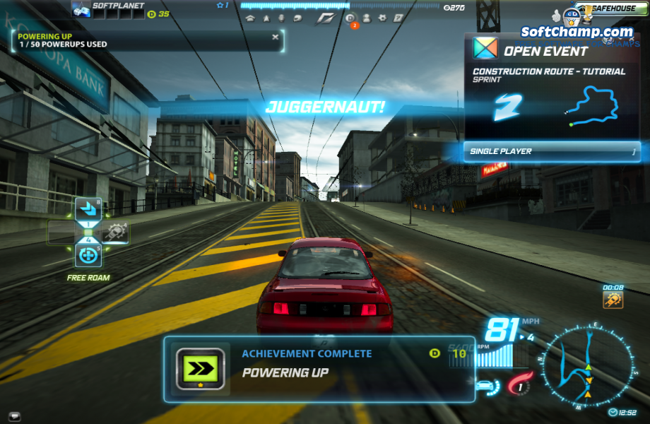 Need For Speed World Powerup