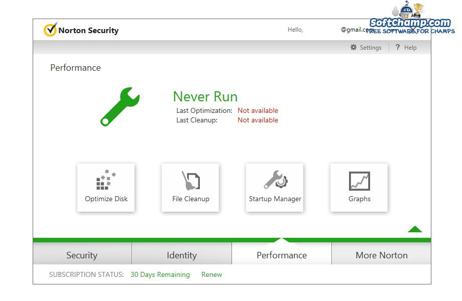 Norton Security Performance