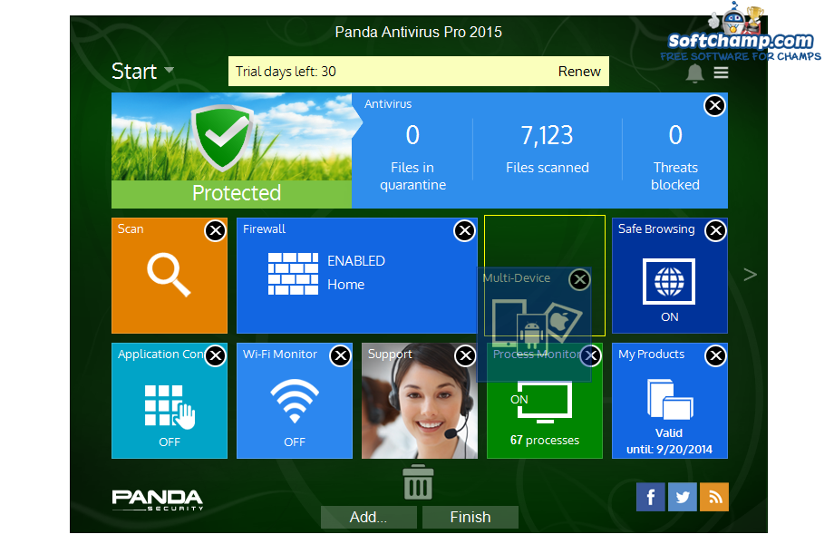 Panda Antivirus Pro Edit Utilities