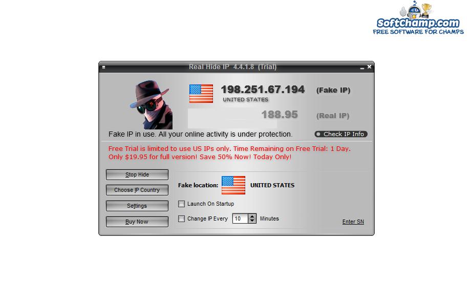 Real Hide IP Fake IP