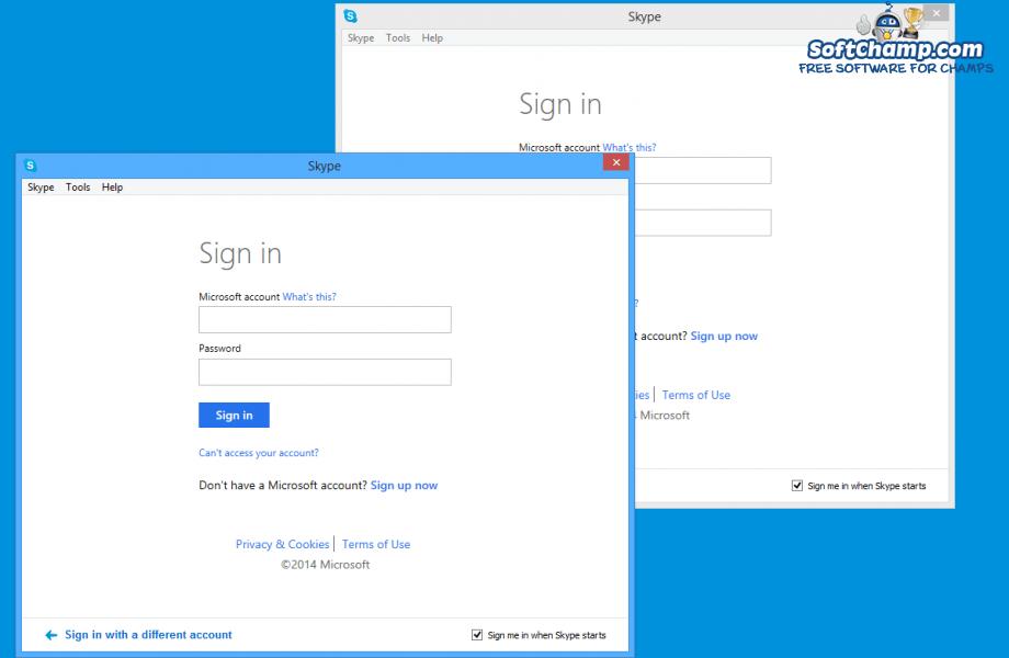SkypeLauncher Multiple Skype instances