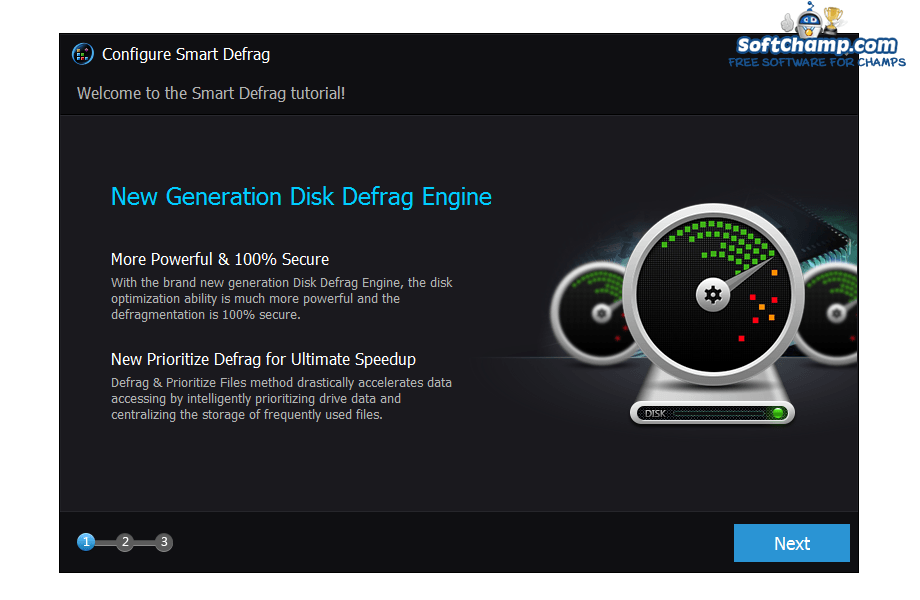 Smart Defrag Configure Smart Defrag