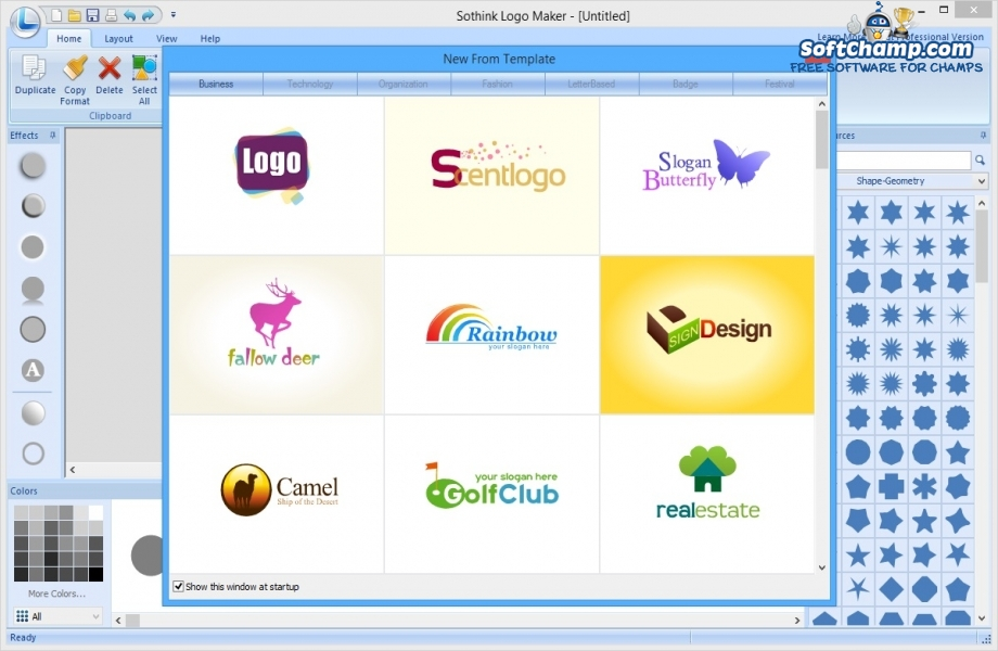 Sothink Logo Maker Templates