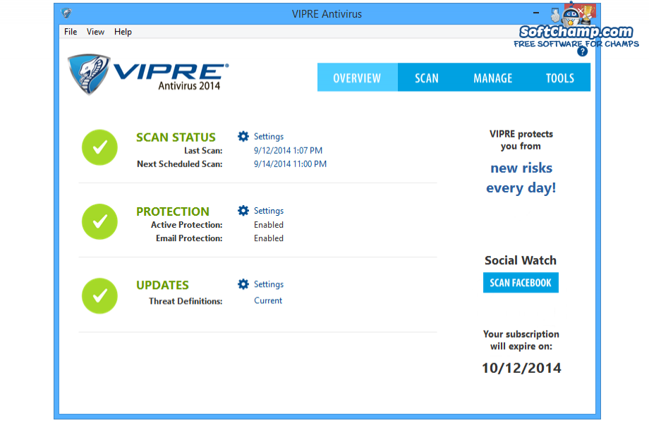 VIPRE Antivirus System Overview