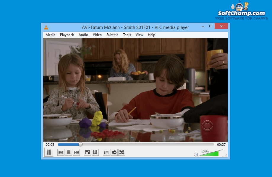 VLC media player Video Playback