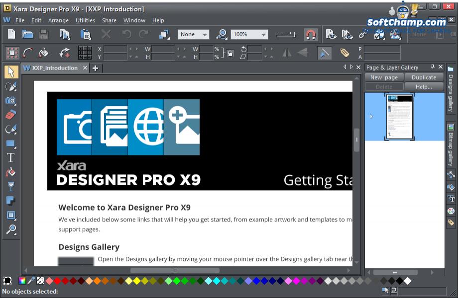 Xara Designer Pro Introduction