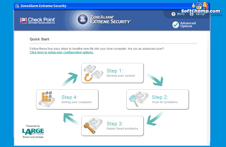 ZoneAlarm Extreme Security Quick Start