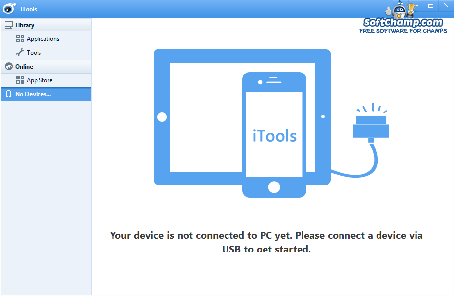 iTools Connected devices