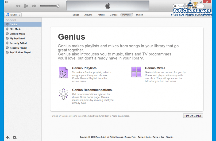 iTunes Playlists